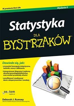 Statystyka dla bystrzaków - okładka książki