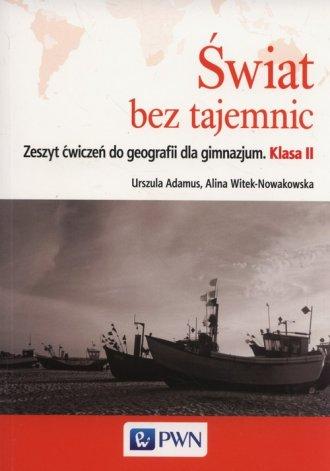 Świat bez tajemnic 2. Gimnazjum. - okładka podręcznika