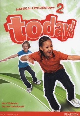 Today 2. Szkoła podstawowa. Materiał - okładka podręcznika