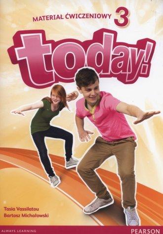 Today 3. Szkoła podstawowa. Materiał - okładka podręcznika
