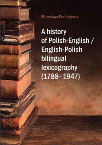 A history of Polish-English / English-Polish - okładka książki