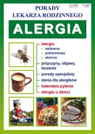 Alergia. Seria: Porady Lekarza - okładka książki