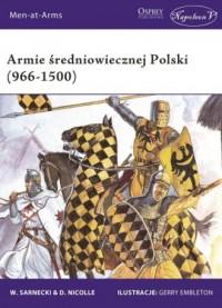Armie średniowiecznej Polski (966-1500) - okładka książki