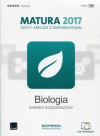 Biologia. Matura 2017. Testy i - okładka podręcznika