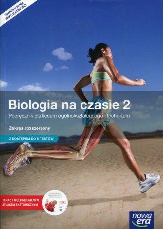 Biologia na czasie 2. Szkoła ponadgimnazjalna. - okładka podręcznika