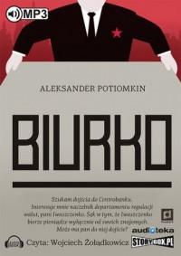 Biurko - Aleksander Potiomkin - pudełko audiobooku