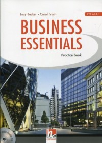 Business Essentials. Practice Book (+ CD) - okładka podręcznika