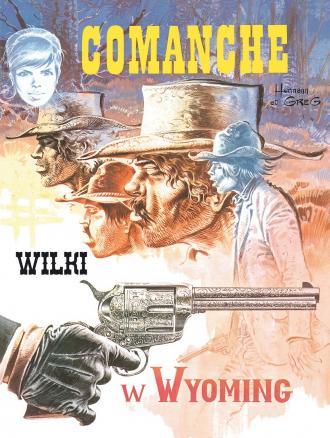 Comanche 3. Wilki w Wyoming - okładka książki