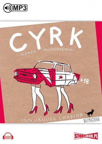 Cyrk - pudełko audiobooku