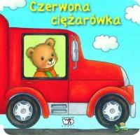 Czerwona ciężarówka - okładka książki