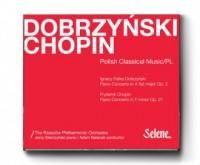 Dobrzyński, Chopin. Koncerty fortepianowe - okładka płyty