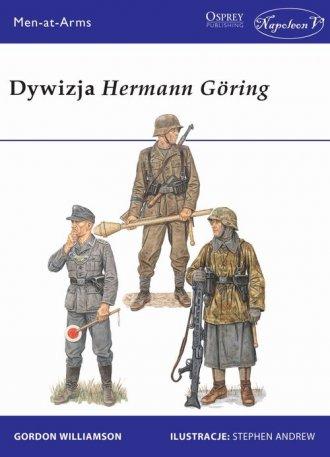 Dywizja Hermann Goring - okładka książki