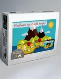 Góry. Cudowne są dzieła Twoje (puzzle 24-elem.) - zdjęcie zabawki, gry