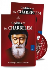 Godzina ze św. Charbelem (audiobook) - pudełko audiobooku