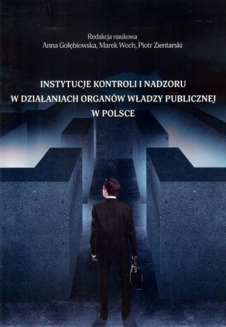 Instytucje kontroli i nadzoru w - okładka książki