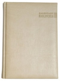 Kalendarz Nauczyciela 2016/2017. Vivella (beżowy) - okładka książki