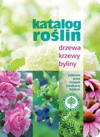 Katalog roślin. Drzewa, krzewy, - okładka książki