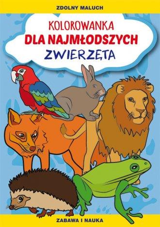 Kolorowanka dla najmłodszych. Zwierzęta - okładka książki