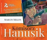 Komisorz Hanusik (audiobook) - pudełko audiobooku