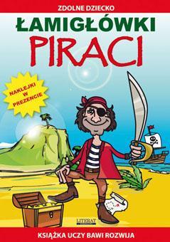 Łamigłówki. Piraci - okładka książki