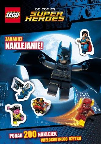 Lego Super Heroes. DC Comics. Zadanie: - okładka książki