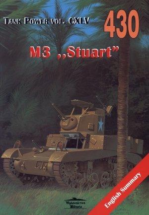 M3  Stuart . Tank Power vol. CXLV - okładka książki