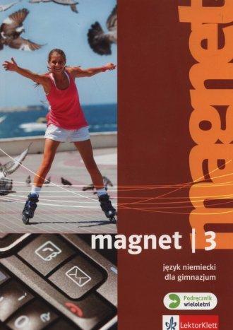Magnet 3. Gimnazjum. Podręcznik - okładka podręcznika