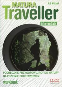 Matura Traveller. Intermediate Workbook B1. Podręcznik przygotowujący do matury na poziomie podstawowym - okładka podręcznika