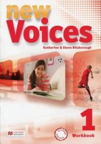 New Voices 1. Zeszyt ćwiczeń wersja - okładka podręcznika