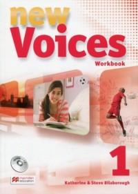New Voices 1. Zeszyt ćwiczeń (+ - okładka podręcznika
