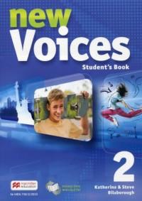 New Voices 2. Podręcznik wieloletni - okładka podręcznika