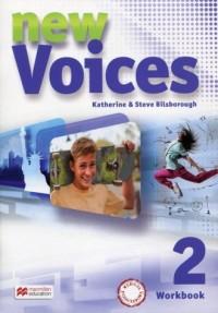 New Voices 2. Zeszyt ćwiczeń wersja - okładka podręcznika