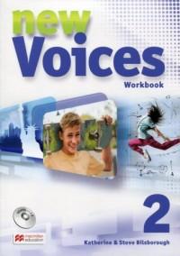 New Voices 2. Zeszyt ćwiczeń - - okładka podręcznika