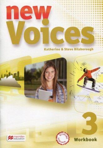 New Voices 3. Zeszyt ćwiczeń wersja - okładka podręcznika
