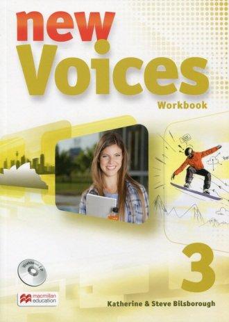 New Voices 3. Zeszyt ćwiczeń (+ - okładka podręcznika