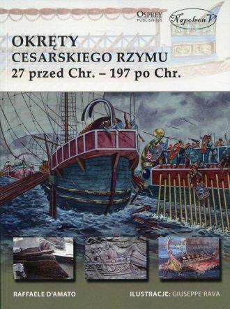 Okręty cesarskiego Rzymu. 27 przed - okładka książki