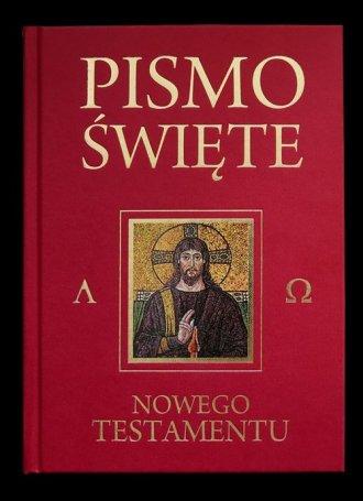 Pismo Św. Nowego Testamentu (bordowe) - okładka książki