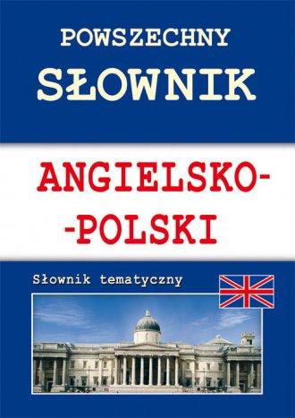 Powszechny słownik angielsko-polski. - okładka książki