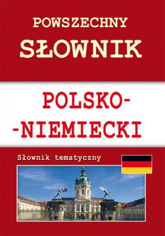 Powszechny słownik polsko-niemiecki. - okładka książki
