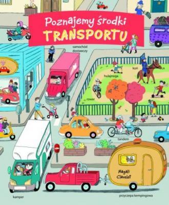 Poznajemy środki transportu - okładka książki
