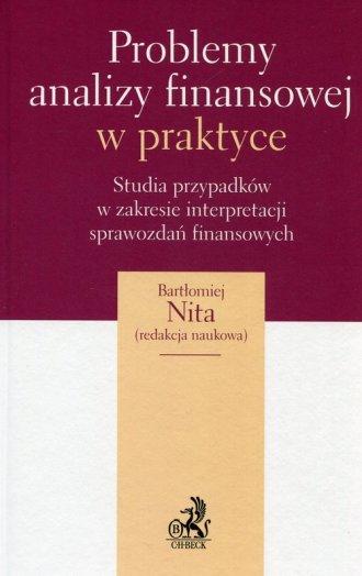 Problemy analizy finansowej w praktyce. - okładka książki