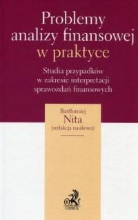Problemy analizy finansowej w praktyce. Studia przypadków w zakresie interpretacji sprawozdań finansowych - okładka książki