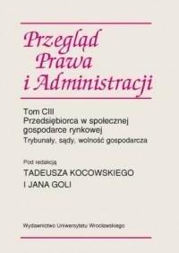 Przegląd Prawa i Administracji - okładka książki