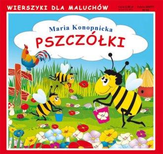 Wierszyki dla maluchów. Pszczółki - okładka książki