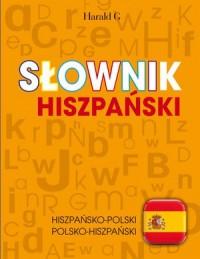 Słownik hiszpański - okładka podręcznika
