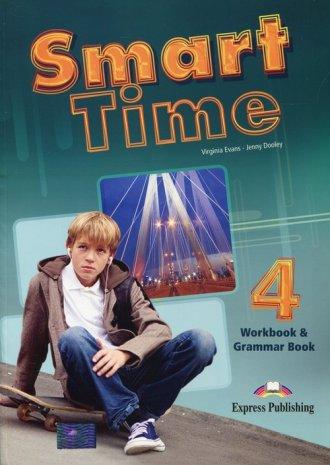 Smart Time 4. Workbook & Grammar - okładka podręcznika