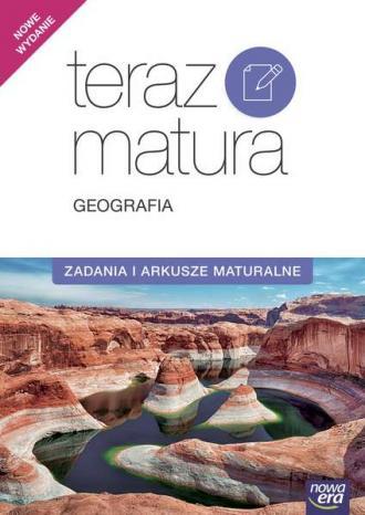 Teraz matura 2017. Geografia. Zadania - okładka podręcznika