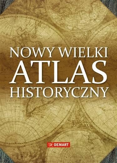 Wielki atlas historyczny - okładka książki