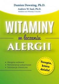 Witaminy w leczeniu alergii - okładka książki