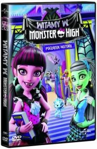 Witamy w Monster High (DVD) - okładka filmu